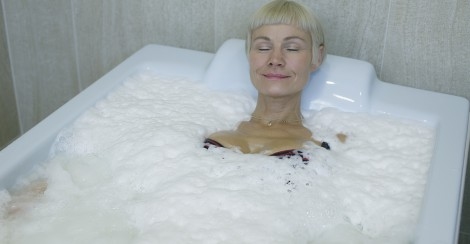 Herbal pearl bath in Estonian Spas