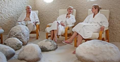 Salt Chamber in Estonian Spa