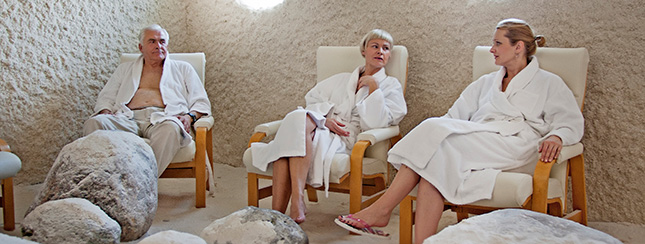 Salt therapy in Estonian Spa
