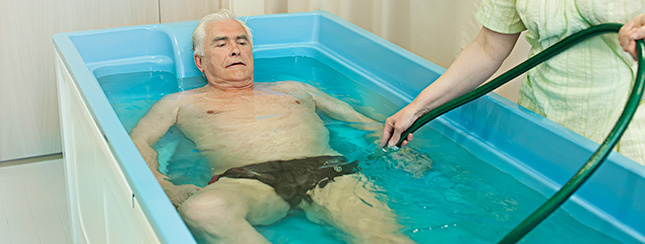 Water therapy in Estonian Spas