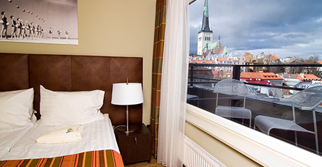 Kalev Spa Hotel & Water Park in Tallinn, Estonia